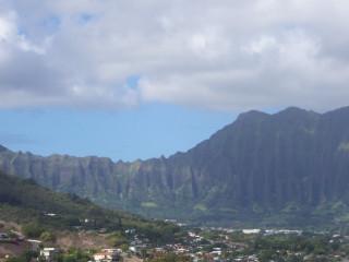 Cliffs on East Oahu