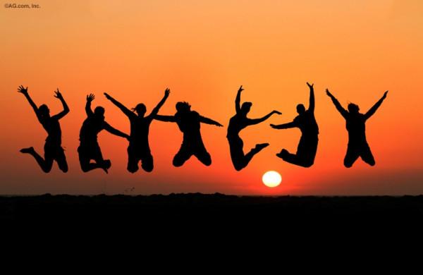 Jump for joy life