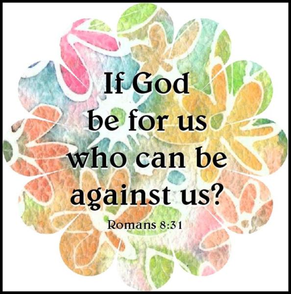 God for us Romans 8