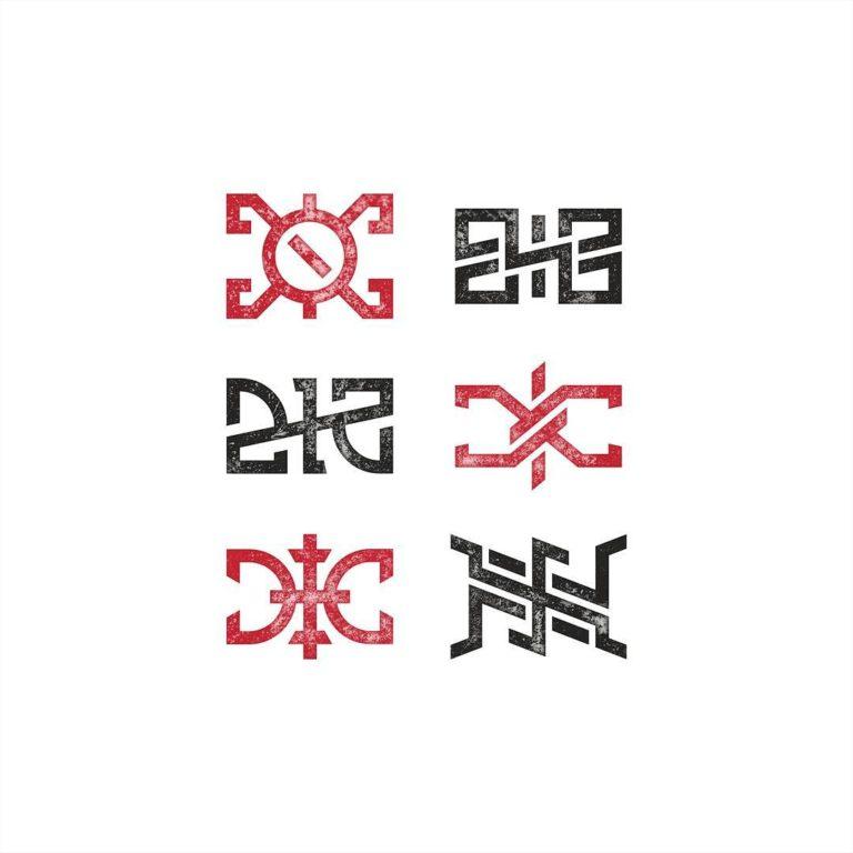 Начертания буквы Ж