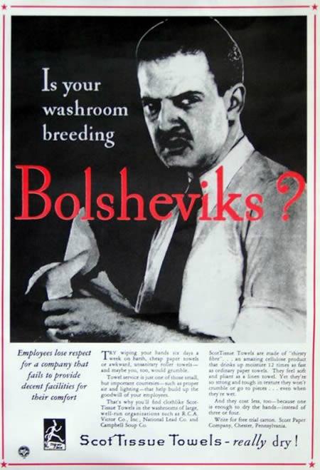 Cold War Vintage Ads