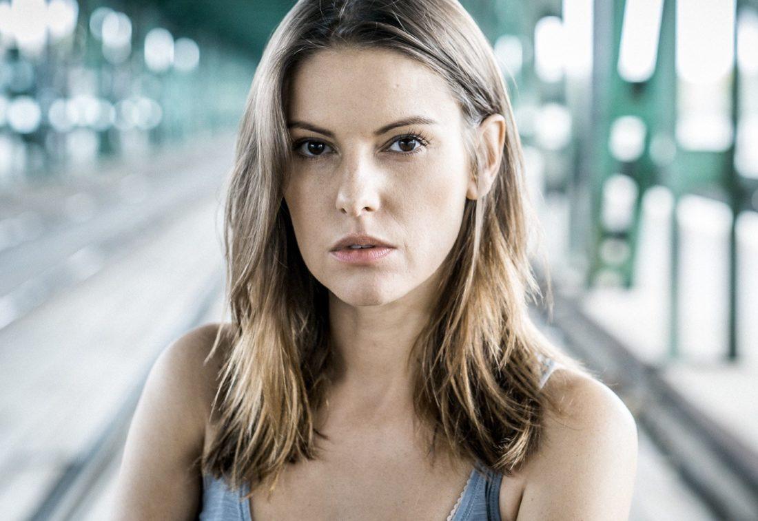 Польская актриса Agnieszka Kawiorska