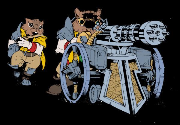 Chipmunk Weapon Team