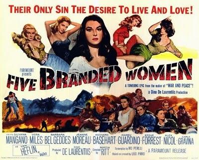 (1960) Five Branded Women