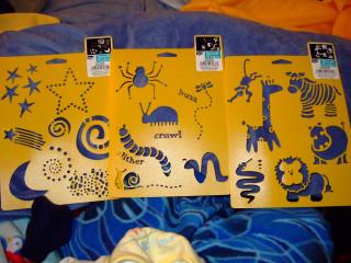 new stencils