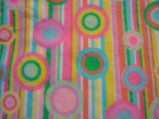 retro circles and stripes