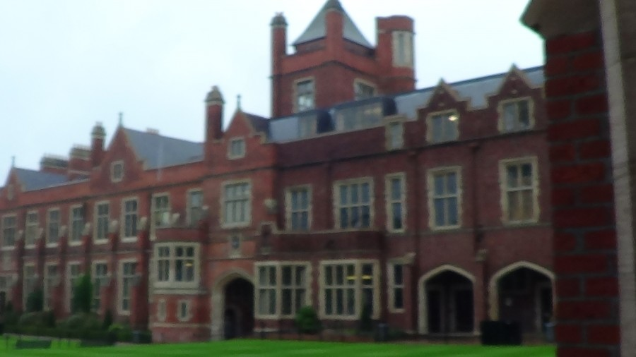 Lanyard Building from Quadrangle