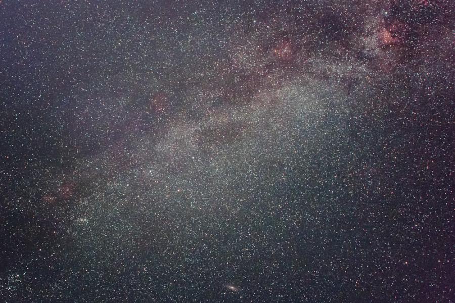 и в Москве виден Млечный Путь