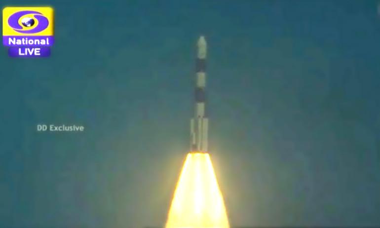 Электро-Л провожает индийцев на Марс