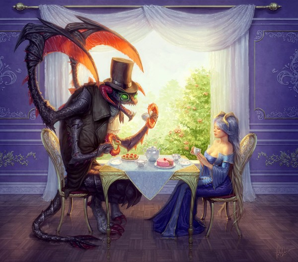 teatime_with_cho__gath_and_sona_by_yumedust-d3axat0 (1)