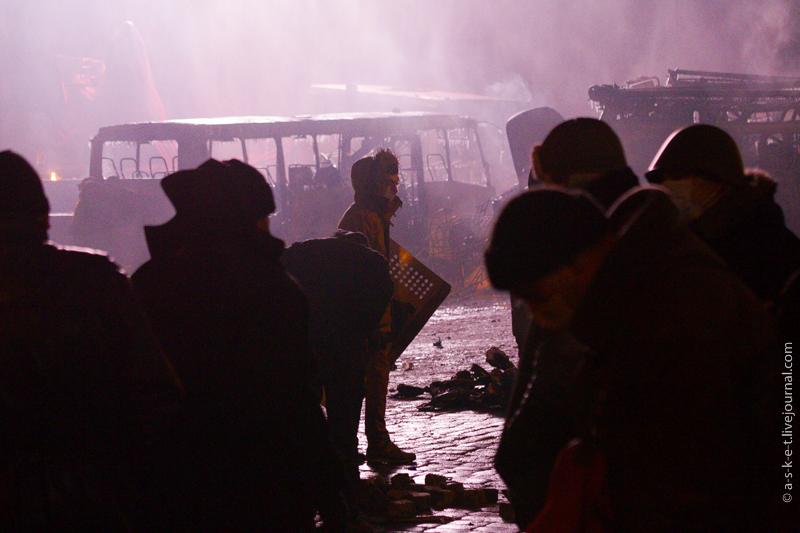 Беспорядки на Грушевского, Киев