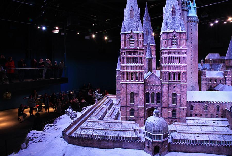 павильоны Поттерианы в Warner Brothers