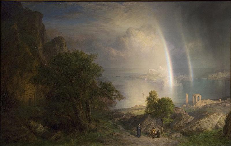 Эгейское море . 1877. Музей Метрополитен, Нью-Йорк