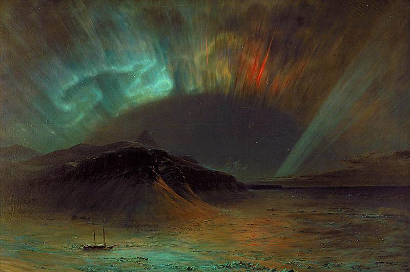 Северное полярное сияние. 1865. Смитсоновский музей американского искусства, Вашингтон
