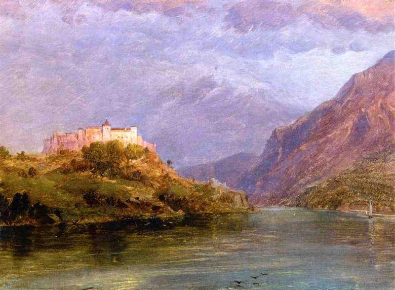 Зальцбург замок. 1869