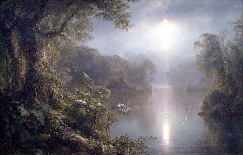 Утро в тропиках. 1877. Национальная галерея искусств