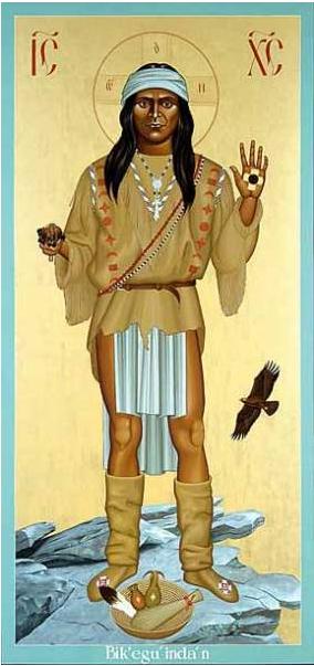 Необычные иконы для индейцев