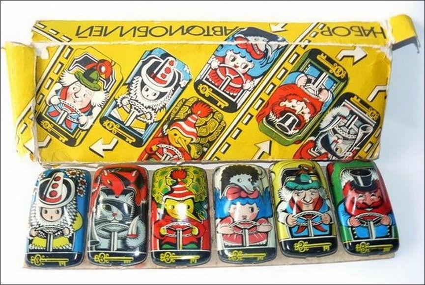 советские игрушечные машинки