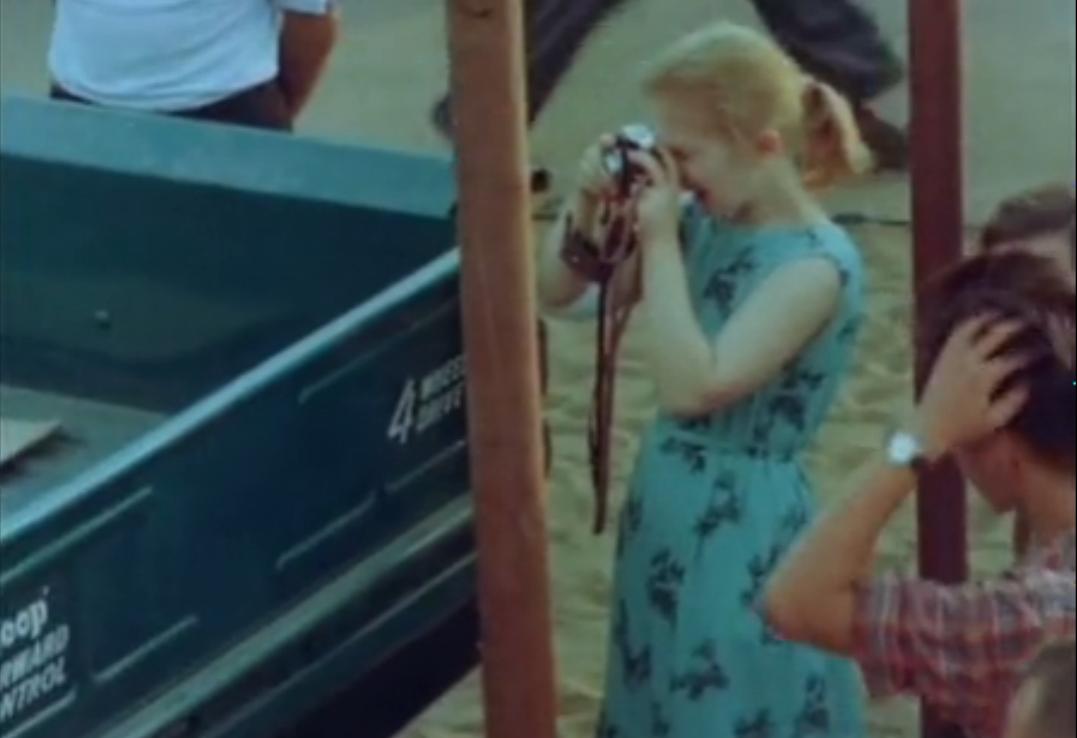 Фильм об американской выставке 1959 года в Сокольниках