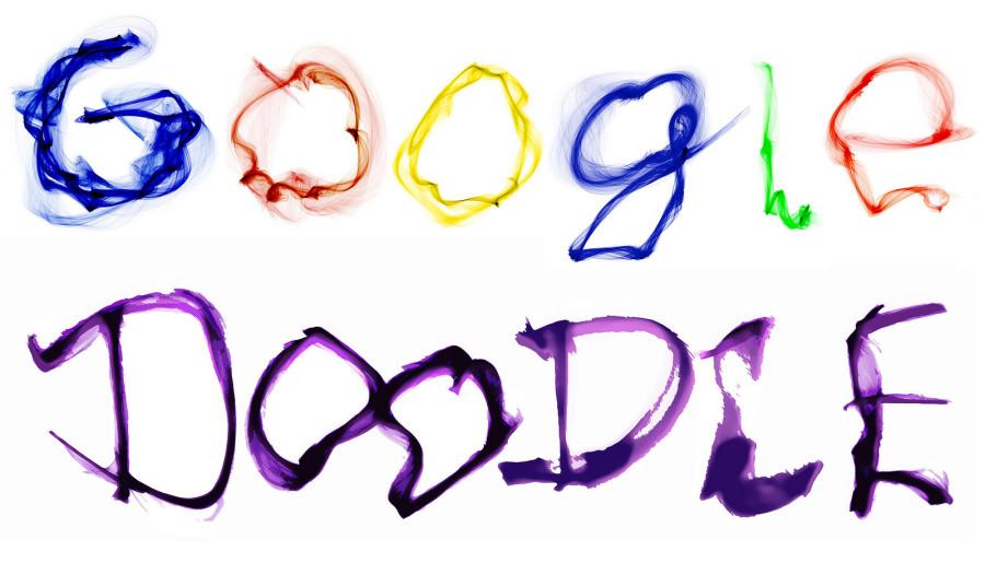 Тут написано Google Doodle