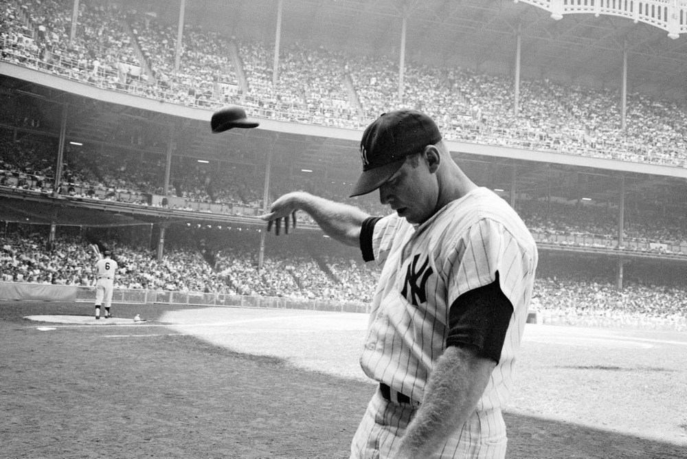 Mickey Mantle by John Dominis, 1965