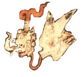 Странные животные в майяской вазописи
