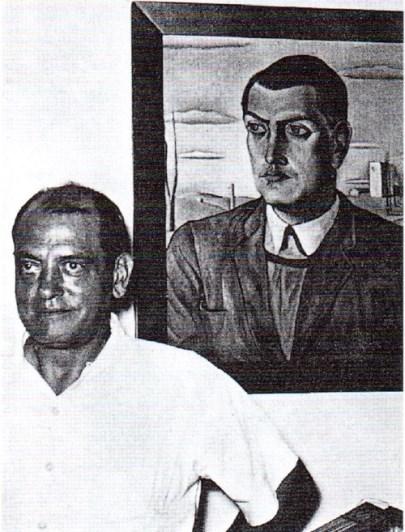 Луис Бунюэль и Портрет Луиса Бунюэля авторства Сальвадора Дали