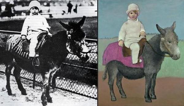 Пабло Пикассо. Поль, сын художника, в возрасте 2-х лет.