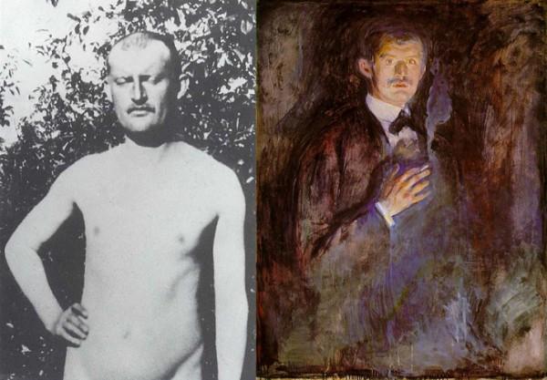 Эдвард Мунк и его автопортрет