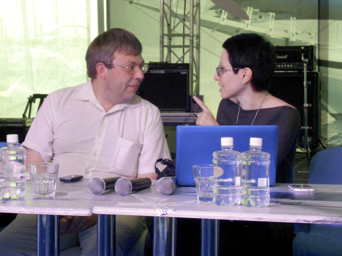 Максим Амелин и Линор Горалик