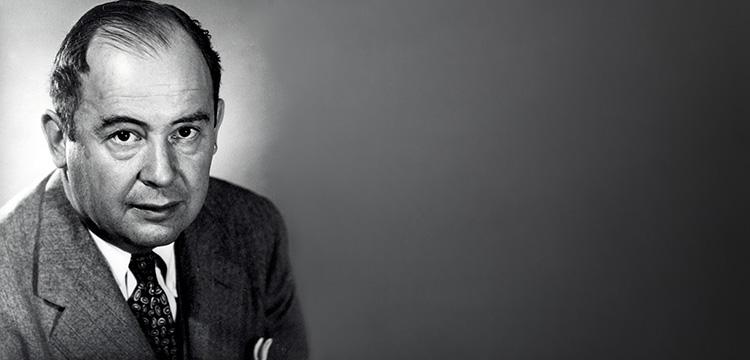 В 1956 Джон фон Нейман