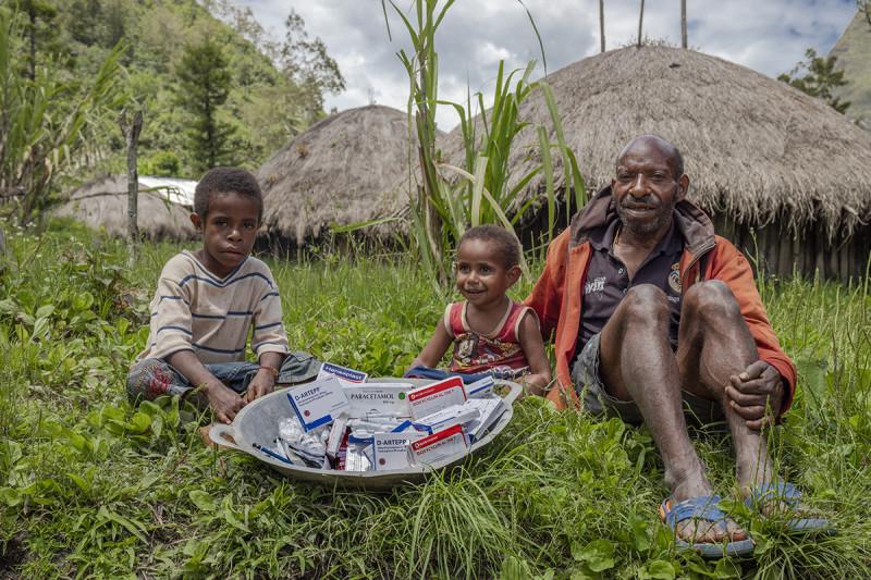 Центральная Новая Гвинея. Антибиотики и лекарства для народа Хуббла дошли до цели. 2019 год
