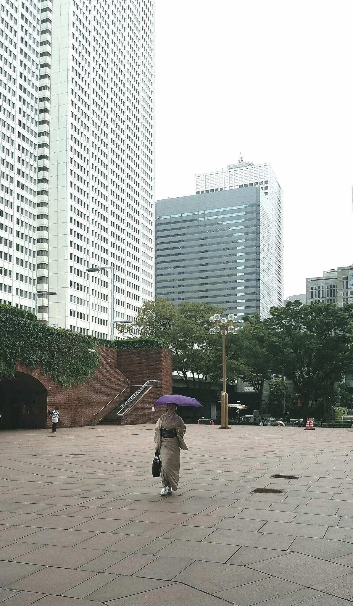 Западное Синдзюку – первый район офисных небоскребов в Токио