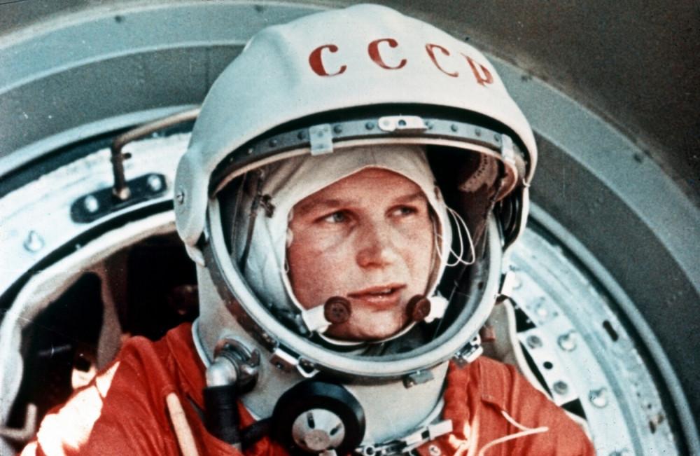 Валентина Терешкова на космодроме Байконур, СССР, 16 июня 1963 года. Фото: East News
