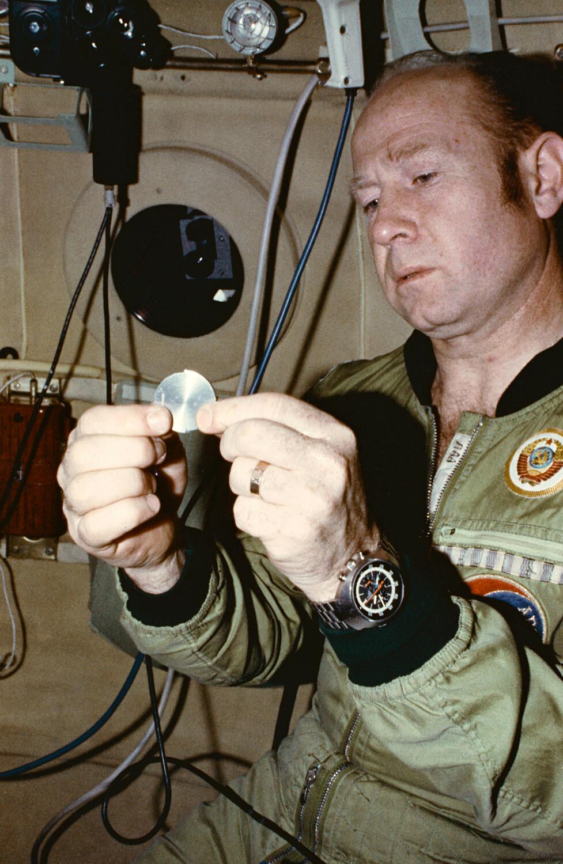 Космонавт Алексей Леонов. Фото сделано во время тренировок по проекту «Аполлон-Союз». Фото: East News