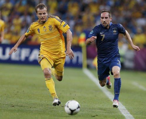 Украине не едет в Бразилию. Франция - Украина 3:0 (0:2)