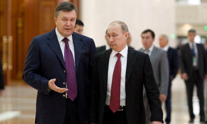 Янукович и Путин не обсуждали возможность присоединения Украины к ТС