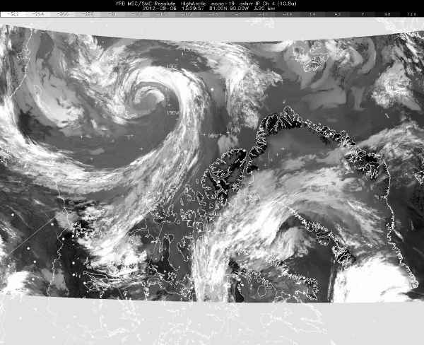arctic cyclone Aug 6, 2012