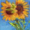 Sunflower Lovers by Miriam Schulman