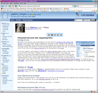 Generic screenshot: Vertigo v2