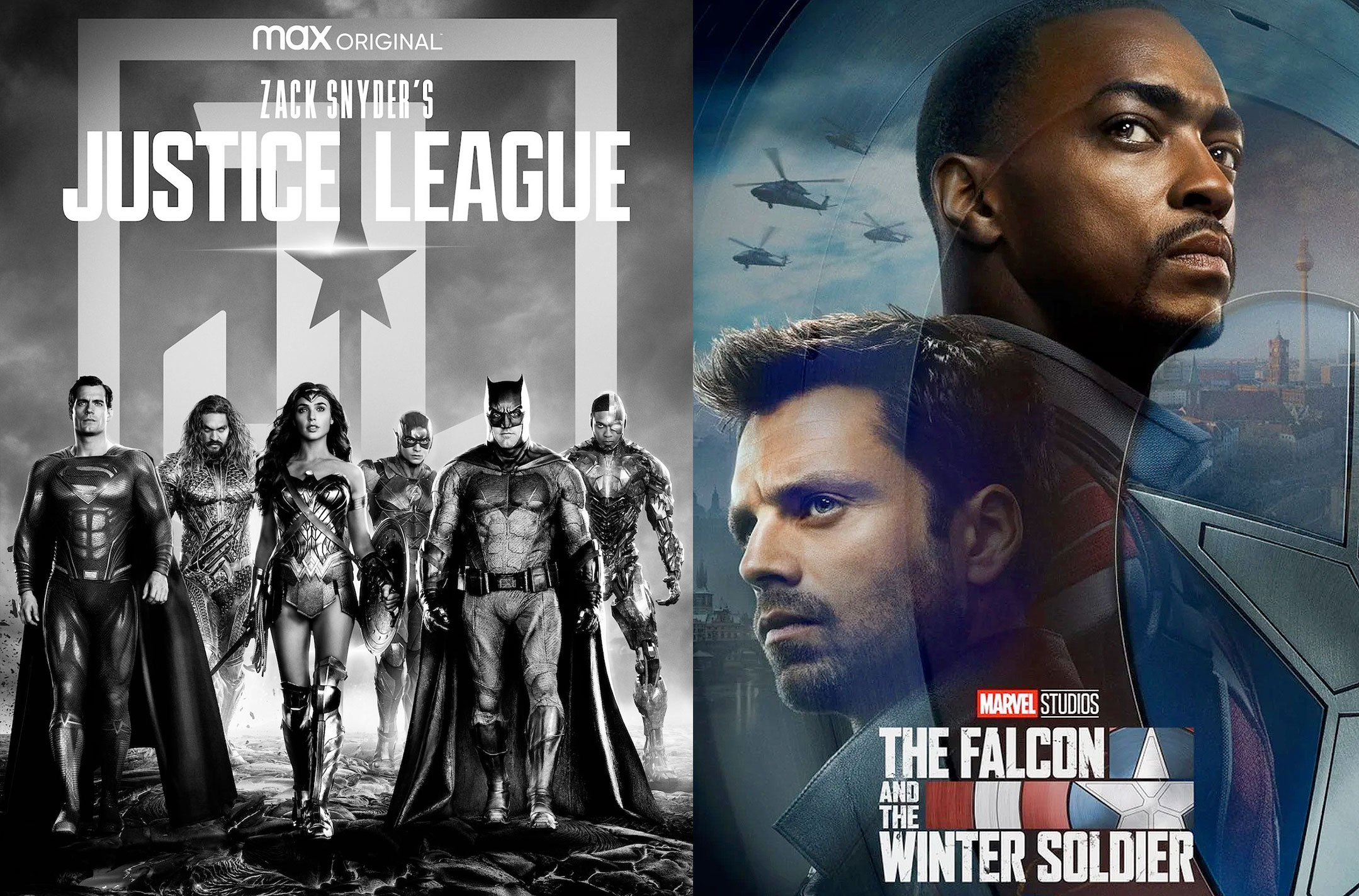 ONTD Original: Who won the weekend? 'JUSTICE LEAGUE' or 'THE FALCON AND THE WINTER SOLDIER'?: ohnotheydidnt — LiveJournal