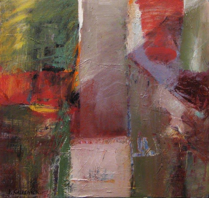 Composition on cardboard, 2015(1), acrylic, 48х48-112