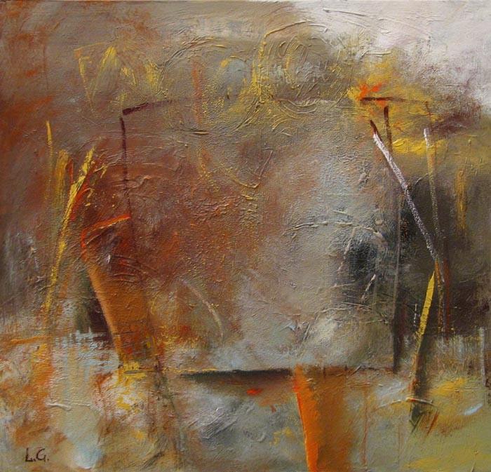 Composition on cardboard, 2015(3), acrylic, 48х48-292