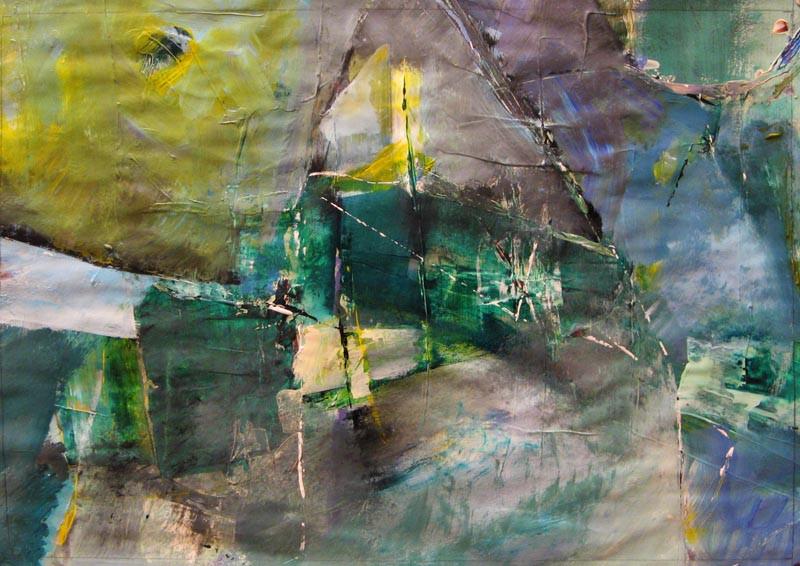 Composition on paper 2015(8), acrylic, 50х70 -292