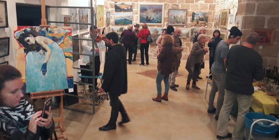 выставка в Яффо первая