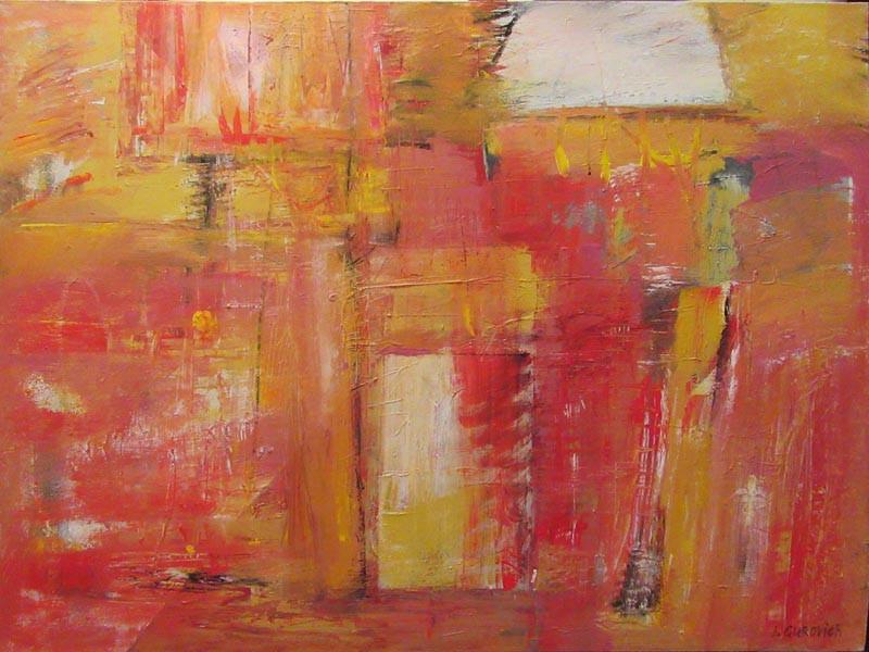 Composition on canvas 2017(1), acrylic, 130x100-2