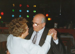 1993-01-30 - Marjorie and George Piddock on their ruby wedding