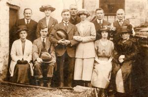 1922 - wedding of Arthur and Clara Ward1