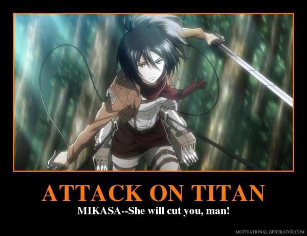 Mikasa meme