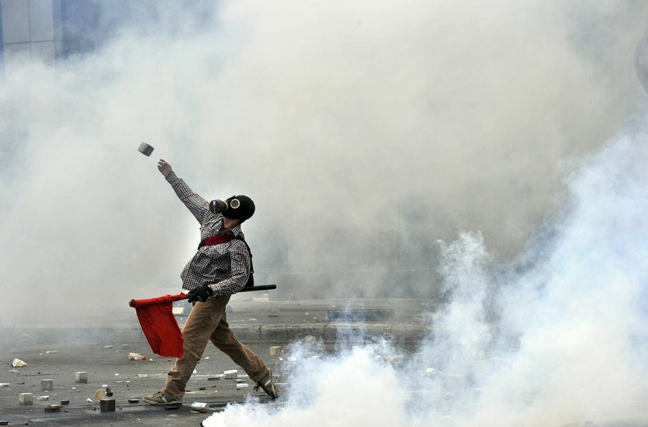 11 Протесты в Греции.